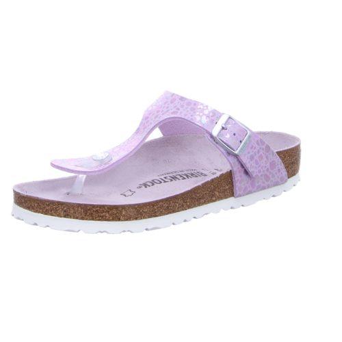 Damen Birkenstock Pantoletten lila/pink Gizeh 36