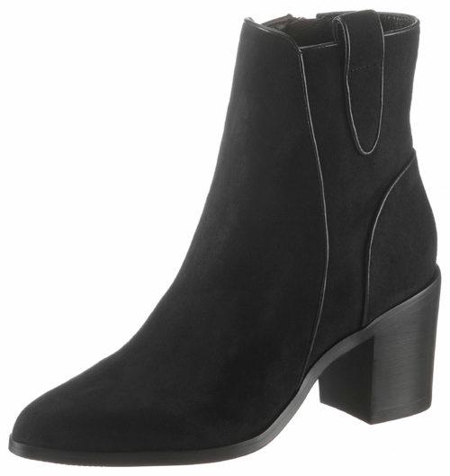 Damen Buffalo Stiefeletten schwarz Ankle Boot 36