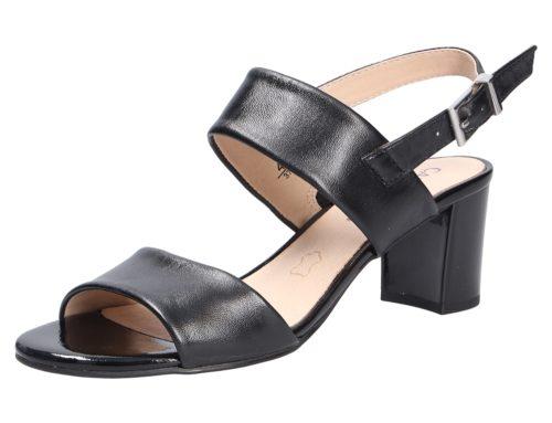 Damen Caprice Klassische Sandalen schwarz Damen Sandalette 38