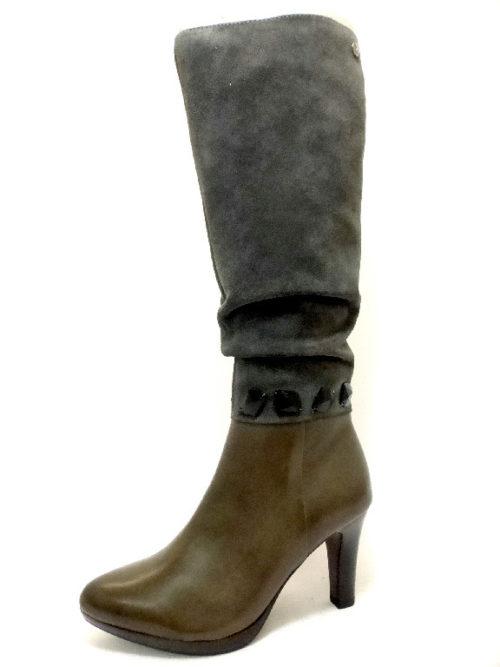 Damen Caprice Stiefel grau 39