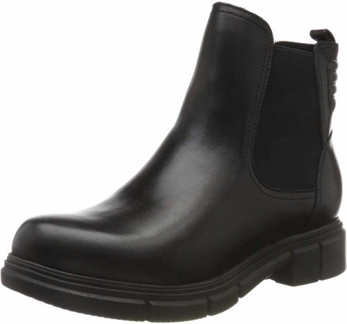 Damen Caprice Stiefeletten schwarz Chelsea Boot 38
