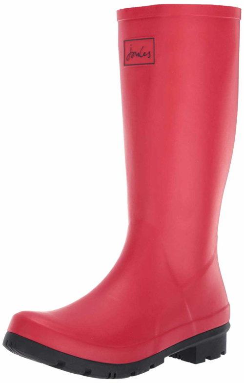 Damen Chesterfield Stiefel rot Gummistiefel 36