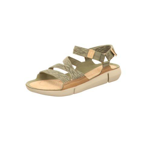 Damen Clarks Komfort Sandalen grün TRI SIENNA-Sandalett 40,5