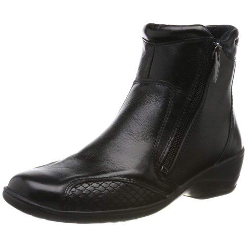 Damen Comfortabel Stiefeletten schwarz 37
