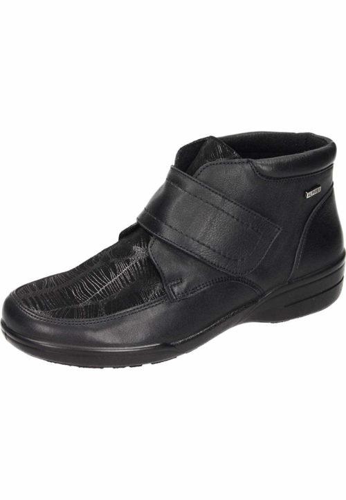 Damen Comfortabel Stiefeletten schwarz 41