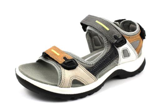 Damen Ecco Klassische Sandalen metallic ECCO OFFROAD-Sandalette 43