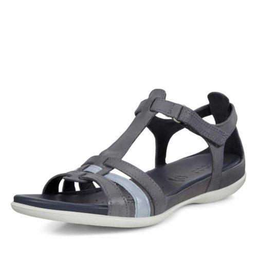 Damen Ecco Riemchen Sandalen blau ECCO FLASH-Sandalette 38