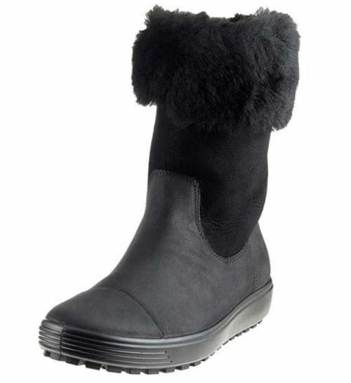 Damen Ecco Stiefeletten schwarz Soft 7 TRED 37