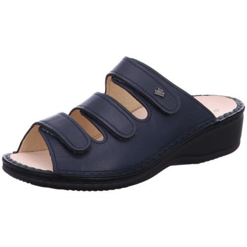 Damen Finn Comfort Pantoletten blau Finn-Pisa blau Nappa 36