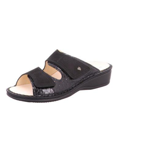 Damen Finn Comfort Pantoletten schwarz Jamaika 40