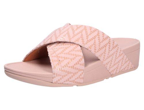 Damen Fitflop Pantoletten lila/pink Damen Pantolette 36