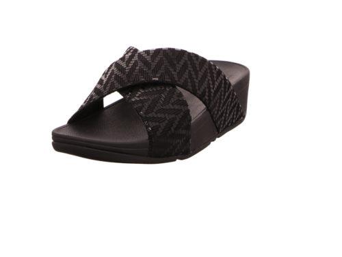 Damen Fitflop Pantoletten schwarz 40,5