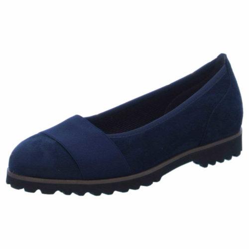 Damen Gabor Ballerinas blau 42