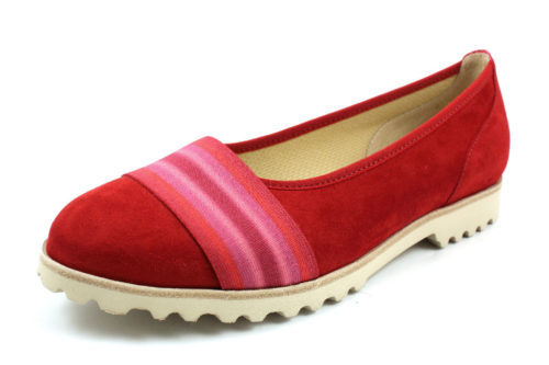 Damen Gabor Klassische Slipper rot 35
