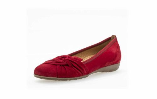 Damen Gabor Klassische Slipper rot 40,5