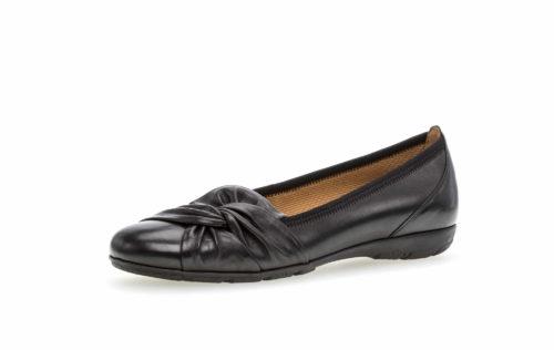 Damen Gabor Klassische Slipper schwarz 38
