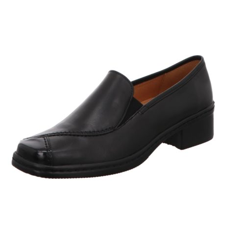 Damen Gabor Klassische Slipper schwarz Hellas 40