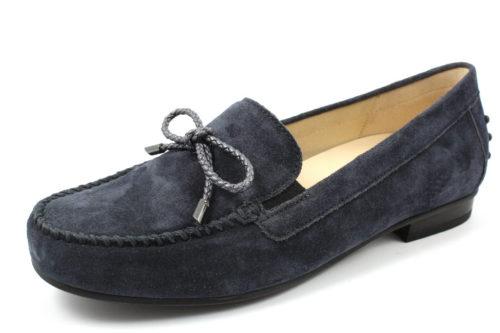 Damen Gabor Mokassins blau 38