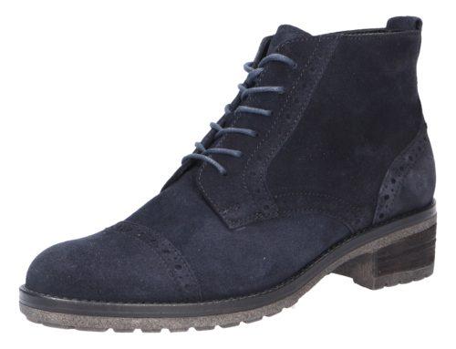 Damen Gabor Schnür-Stiefeletten blau Damen Stiefel 38