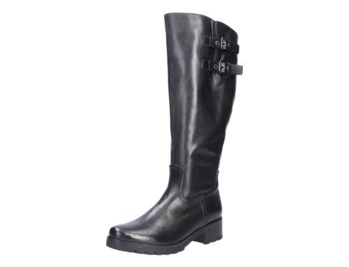 Damen Gabor Stiefel schwarz L-Schaft 38,5