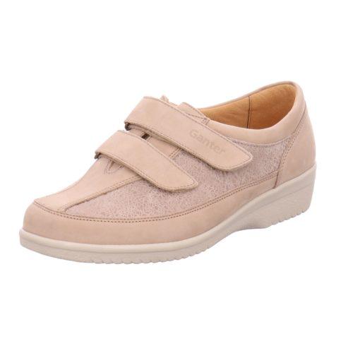Damen Ganter Komfort Slipper beige 37,5