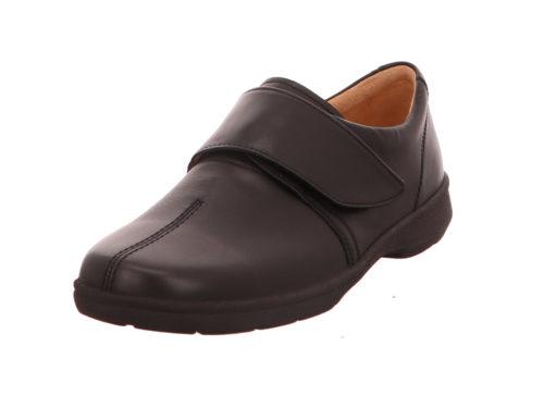 Damen Ganter Komfort Slipper schwarz 37,5