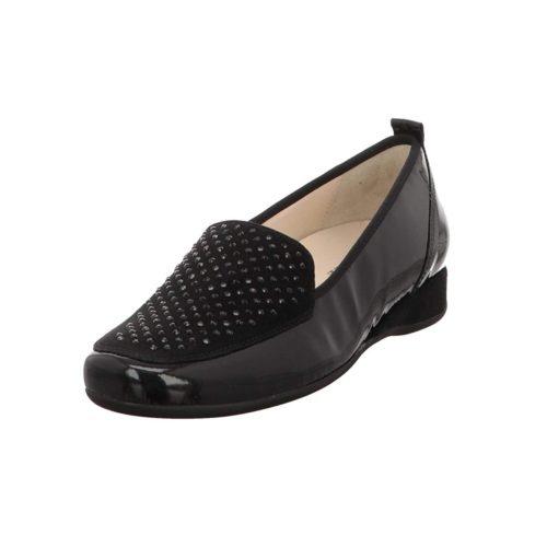 Damen HASSIA Klassische Slipper schwarz 37