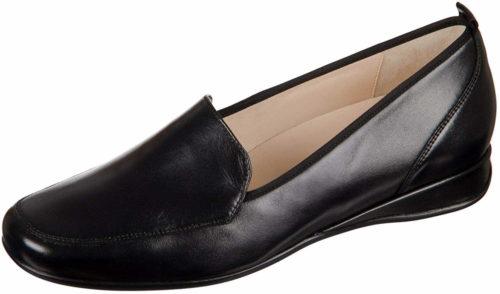 Damen HASSIA Klassische Slipper schwarz Petra 42