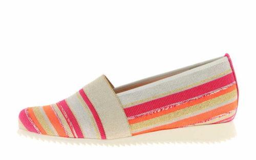 Damen HASSIA Sportliche Slipper rot 39
