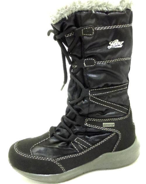 Damen LICO Stiefel schwarz 31