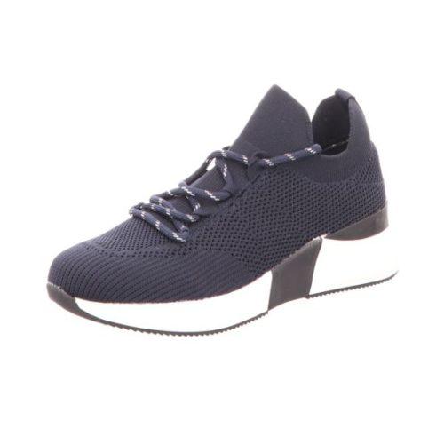 Damen La Strada Mokassins blau Knitted sneaker 40