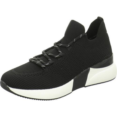 Damen La Strada Mokassins schwarz Knitted Sneaker 42