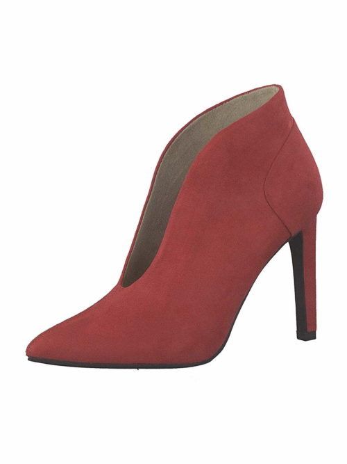 Damen Marco Tozzi Stiefeletten rot Stiefelette 38