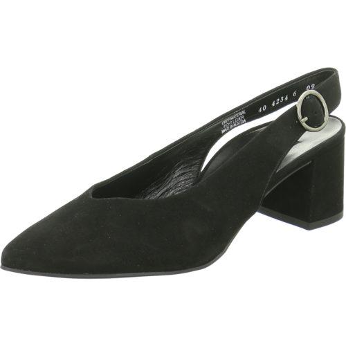 Damen Paul Green Sling-Pumps schwarz 0064-7503-034/Sandalette 38,5