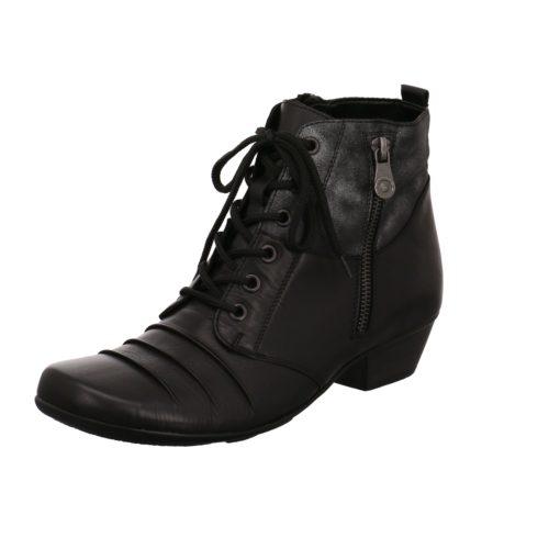 Damen Remonte Schnür-Stiefeletten schwarz 36