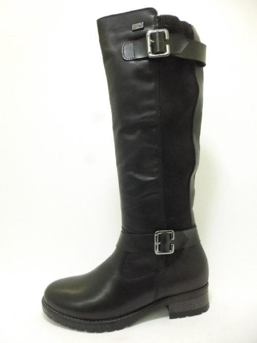 Damen Remonte Stiefel schwarz 36