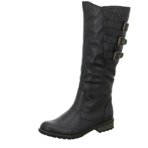 Damen Remonte Stiefel schwarz 39