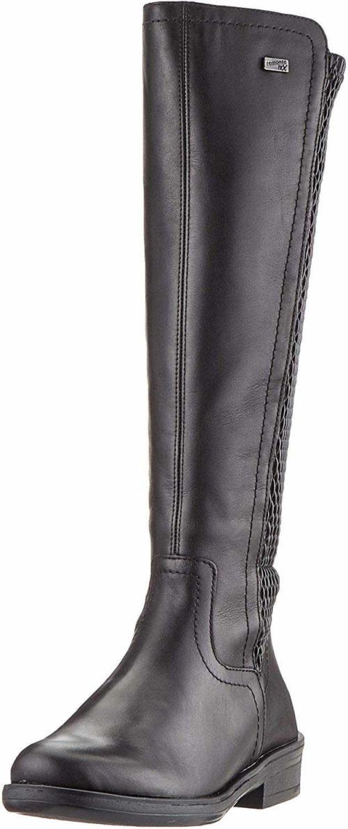 Damen Remonte Stiefel schwarz 44