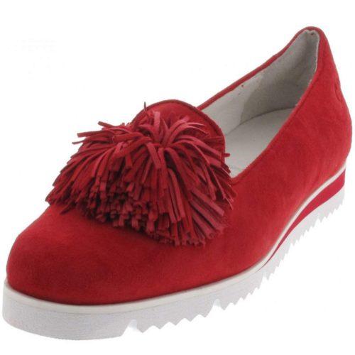 Damen Seibel Klassische Slipper rot 38