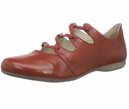 Damen Seibel Komfort Slipper rot 36