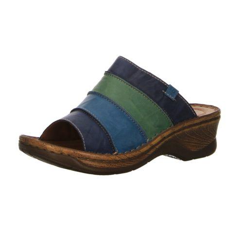 Damen Seibel Pantoletten blau Catalonia 6 40