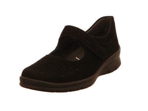 Damen Semler Ballerinas schwarz Xenia 38,5