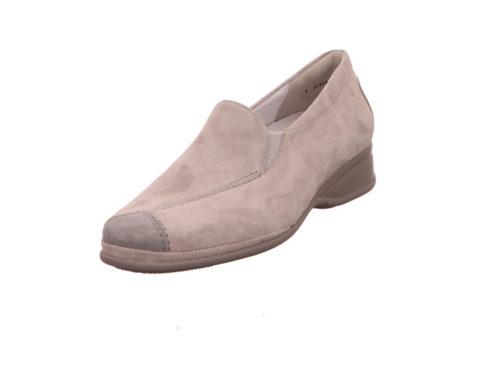 Damen Semler Komfort Slipper grau Semler R1635 perle 38