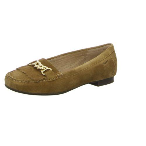 Damen Sioux Klassische Slipper beige Zibby 40