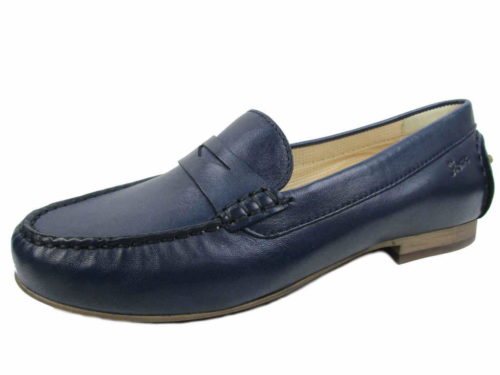 Damen Sioux Klassische Slipper blau Libisia-707 41