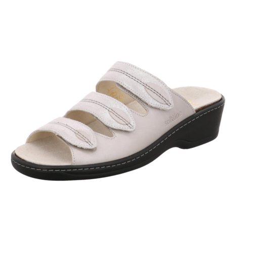 Damen Softline Pantoletten metallic 225003 37