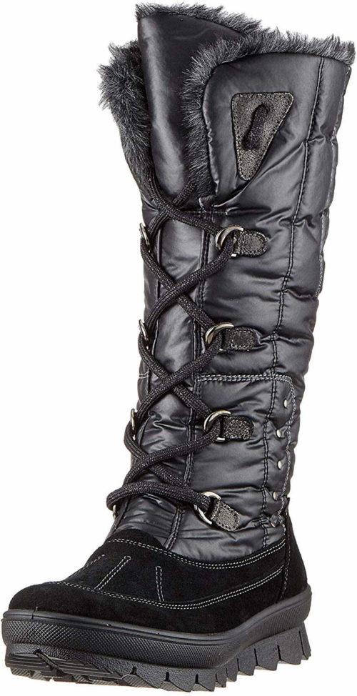 Damen Superfit Stiefel schwarz 38,5