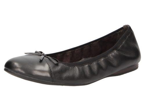 Damen Tamaris Ballerinas schwarz Alena 37