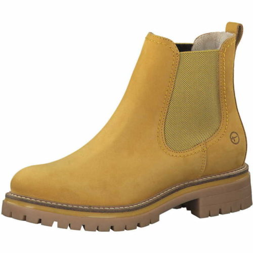 Damen Tamaris Chelsea Boot gelb Da.-Stiefel 40