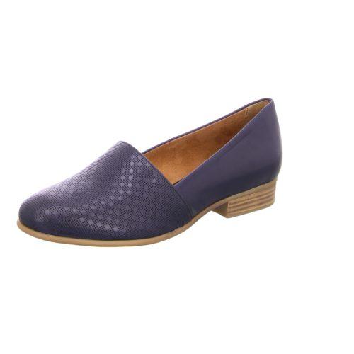 Damen Tamaris Klassische Slipper blau 39